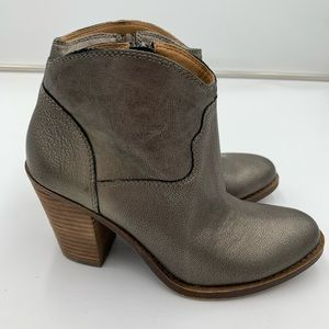 Lucky Brand ankle bootie - side zipper